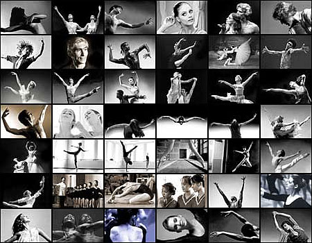 Here are 46 images of dancers famous and not so famous. Many were friends and some still are. Some are living. Some are dead. All were beautiful.