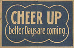 Cheer Up old postcard